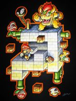 Mario and Bowser Blocks by Jorch