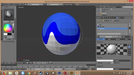 First Own Blender Texturing Try by LarsMasters
