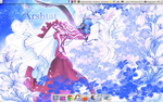 My latest desktop by SingerYuna