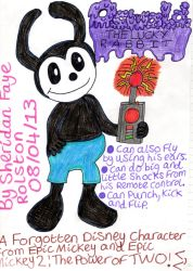 Oswald the Lucky Rabbit :) by badberry123