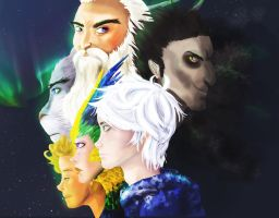 Rise of the Guardians by OneProudMutt