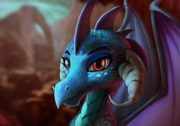 Dragon Lord Ember by StarBlaze25