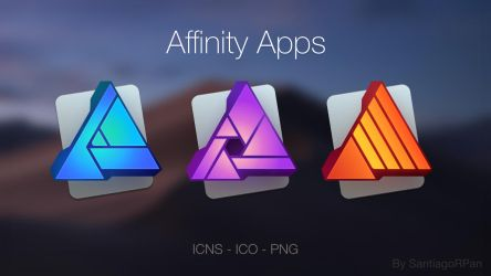 Affinity apps by SantiagoRPan