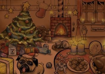 Christmas Drawing 2016 by Listenes