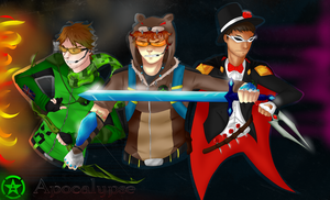 AH - Team Lads by ThePyroQueen