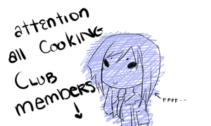[IH] attention all cooking club members by xod4ox