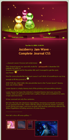 Jazzberry Jam Wave Journal CSS by Seiorai