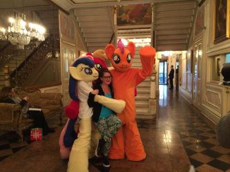 Ponies at Ponycon 2016 (Photo Credit: pjabrony) by krysto2012