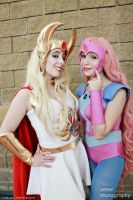 She-Ra and Glimmer by Neferet-Cosplay