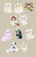 [CLOSED TY] Adoptable 90 - Fragile by Puripurr