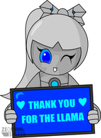 Thanks For The Llama by ZeonSniper