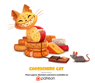 Daily 1353. Cheeshire Cat by Cryptid-Creations
