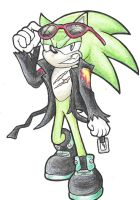 Scourge the Hedgehog by silvershadowultimate