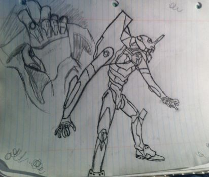 Evangelion Unit 01 WIP 2 by Ppeitso