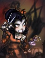 Off with the hair! A Halloween-Nightmare [CONT] by YummingDoe4