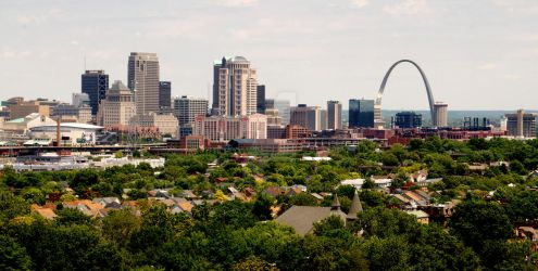 St. Louis Skyline by Saber-Cow