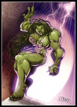 She Hulk 4 by wagnerf