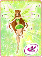 WINX:Lithea Enchantix Card by lightshinebright