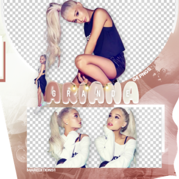 /PACK PNG/ ARIANA GRANDE. by MarEditions1
