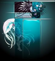 Miku YT Background FREE by Innachan