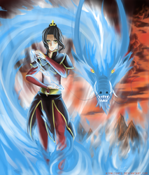 Azula: The Power of a Hundred Suns by aionlights
