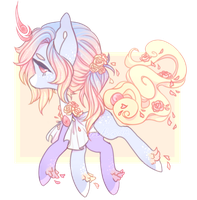 [Closed] Pastel Solutai Pony Auction by Endeth