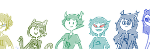Homestuck: Trolls by Ria-and-Ree
