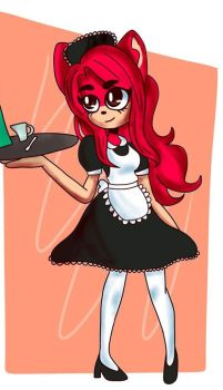 Ashley the Maid by AshleyRodriguez1997