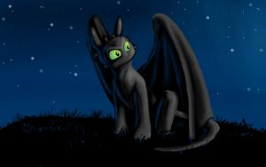 Toothless by Mercvtio