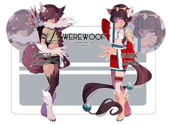 [WOOF] Forest and Snow [SOLD] by rein-adopts