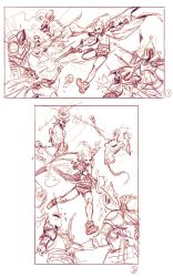 Zen shooting sketches 1-2 by saint-max