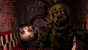 Springtrap -  Poster by GoldenSpoonProduct