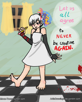 Never Be Creative Again by ArtieDrawings