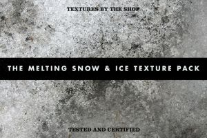 The melting snow and ice texture pack by simonh4