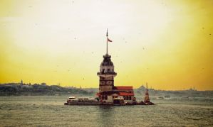 maiden tower by PaLiAnCHo