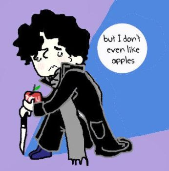 But I Don't Even Like Apples by disturbedchicken