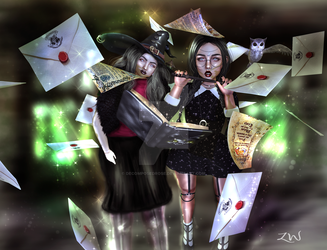 Witches by DecomposedRose