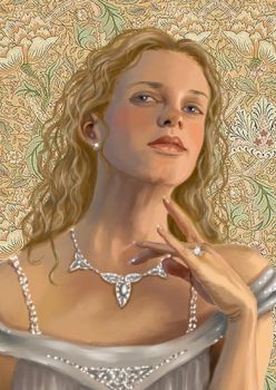 Galadriel Detail by gothika248