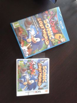 Sonic Lost World Wii U and 3DS by funkyjeremi