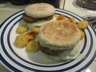 Sausage egg and cheese muffins by VonDude