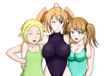 Bathing Suit Trio [Request] by srfj901