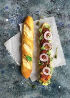 Miniature Filled Baguette by thinkpastel