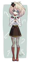 Ugly Christmas Sweater!Reyn by forgottencake