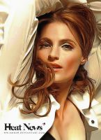 Heat News - France issue 7 /  Stana Katic by artistamroashry