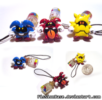 Dr. Mario Virus Charms by FissionBase