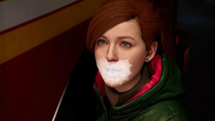 Mary Jane Web Gagged by TheBlenderTaper