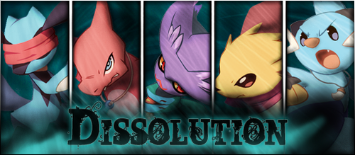 PMD: Dissolution Title Card by FalloftheKnights