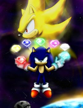 Sonic supersonic by FANTASY-WORKS-JMBD