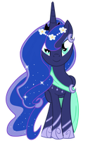 Winter Moon Luna by digimonlover101