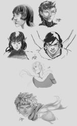 Request Sketches 2013-0-24 by Oseike